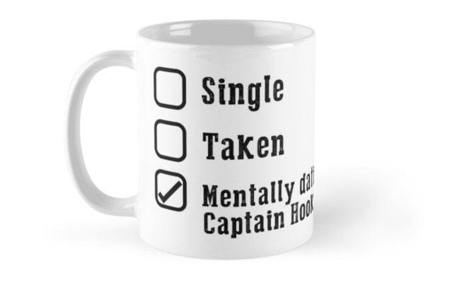 Mentally Dating Captain Hook Mug