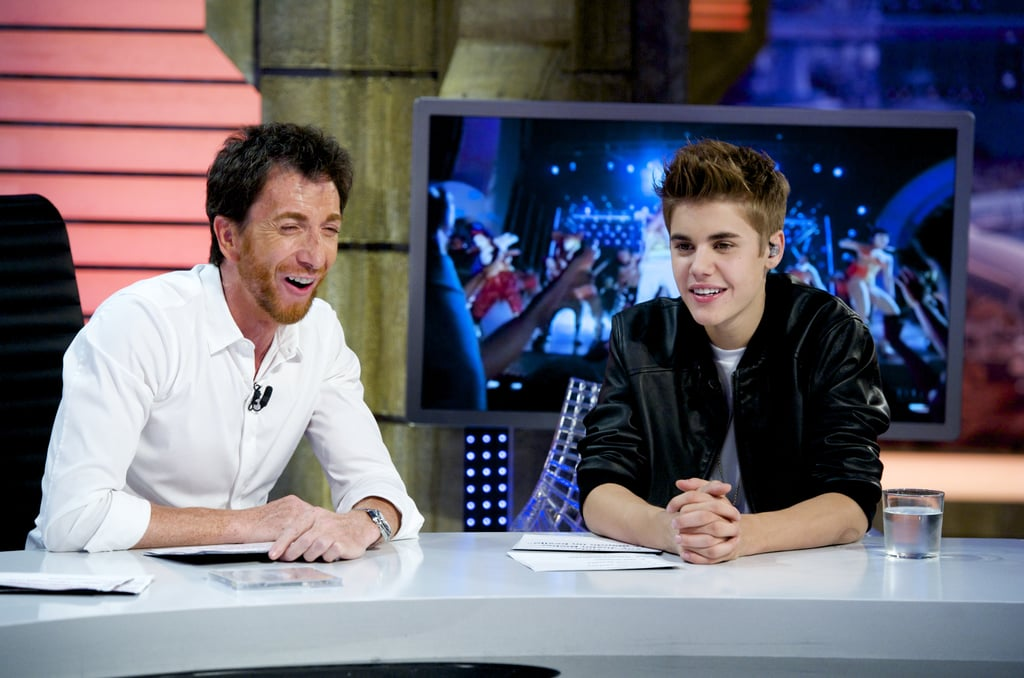 Justin Bieber had a chat with the host of El Hormiguero.