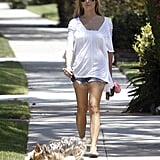 Kristin Cavallari went for a stroll in LA.