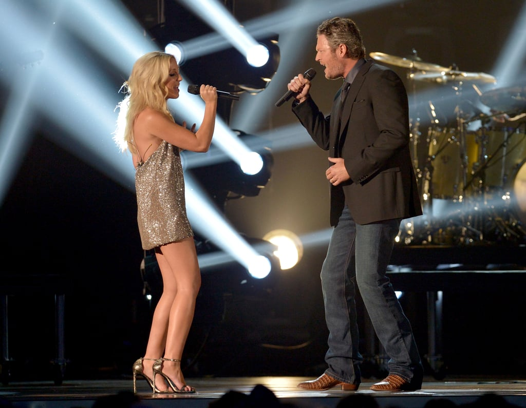 2014 Ashley Monroe And Blake Shelton Cma Awards