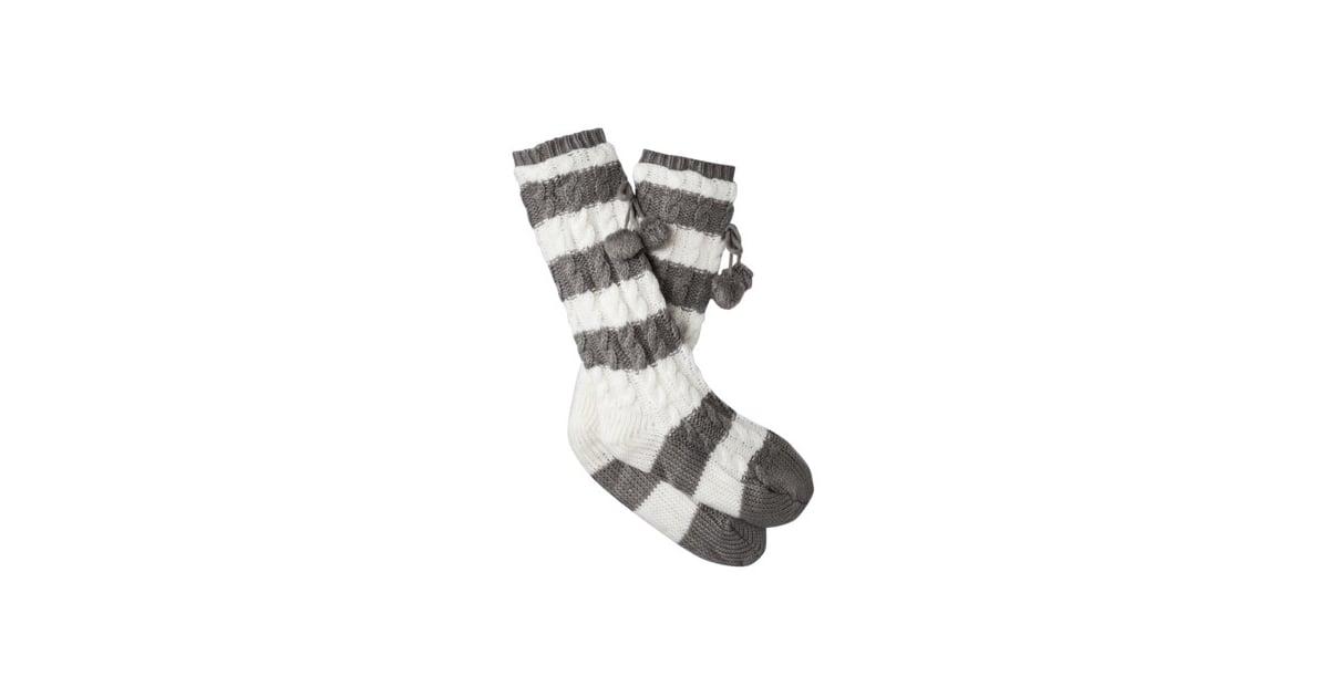 Striped Socks | Cheap Winter Hats and Gloves | POPSUGAR Fashion ...