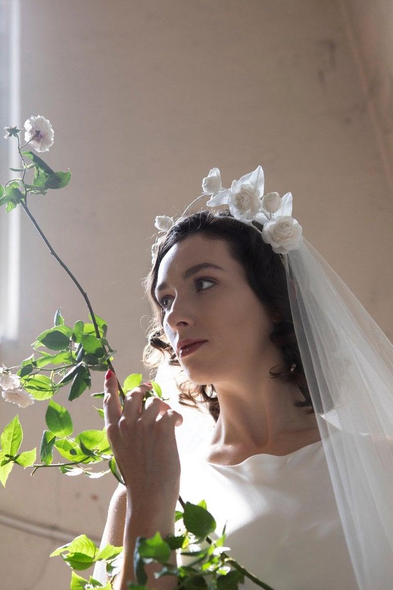 Wedding Veil Alternatives From Etsy Popsugar Fashion
