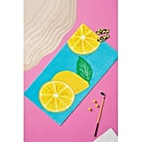 Lemon Placed Beach Towel