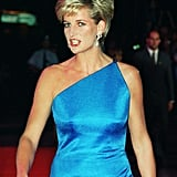 Princess Diana With Side-Swept Bangs in 1996