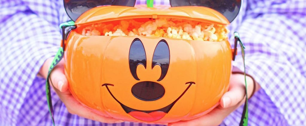 Disney World Pumpkin Popcorn Bucket