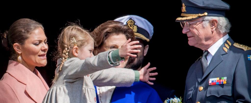 Swedish Royals at King Carl's Birthday Celebration 2017