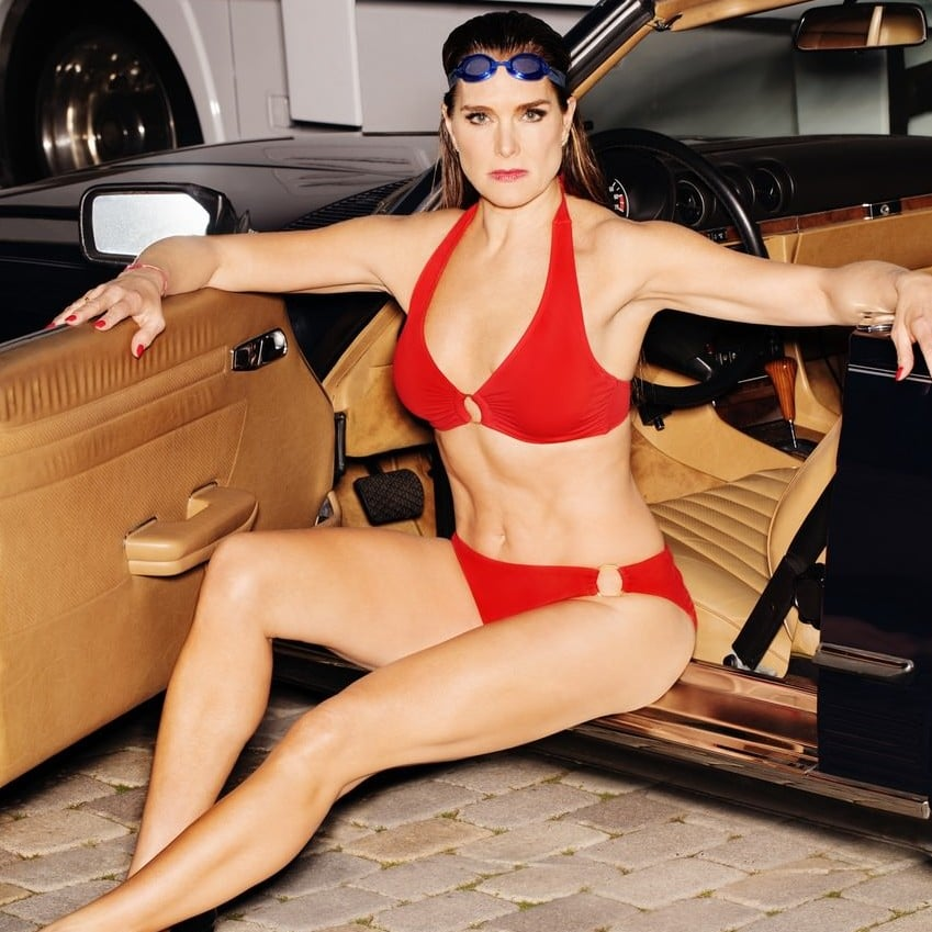 88958bd322cbc Ashley Graham and Brooke Shields Swimsuits For All Campaign   POPSUGAR  Fashion