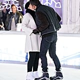 Kate Winslet Heats Up an Ice-Skating Rink by Making Out With Her Hunky Costar