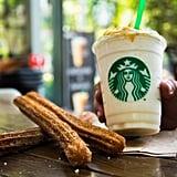 Latin America: Churro Frappuccino