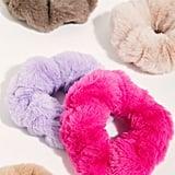 Free People Faux Fur Scrunchie