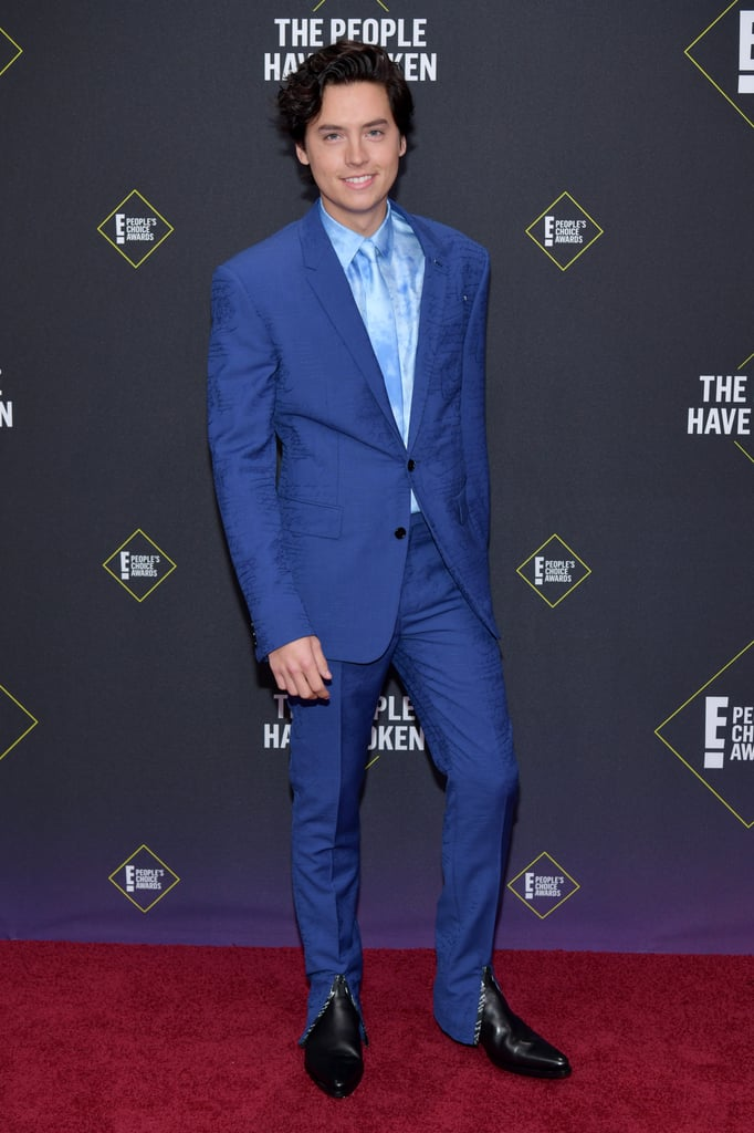 Cole Sprouse at the People's Choice Awards 2019