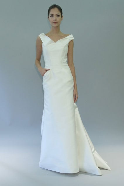 Pictures of the best designer wedding dresses from 2012 ...