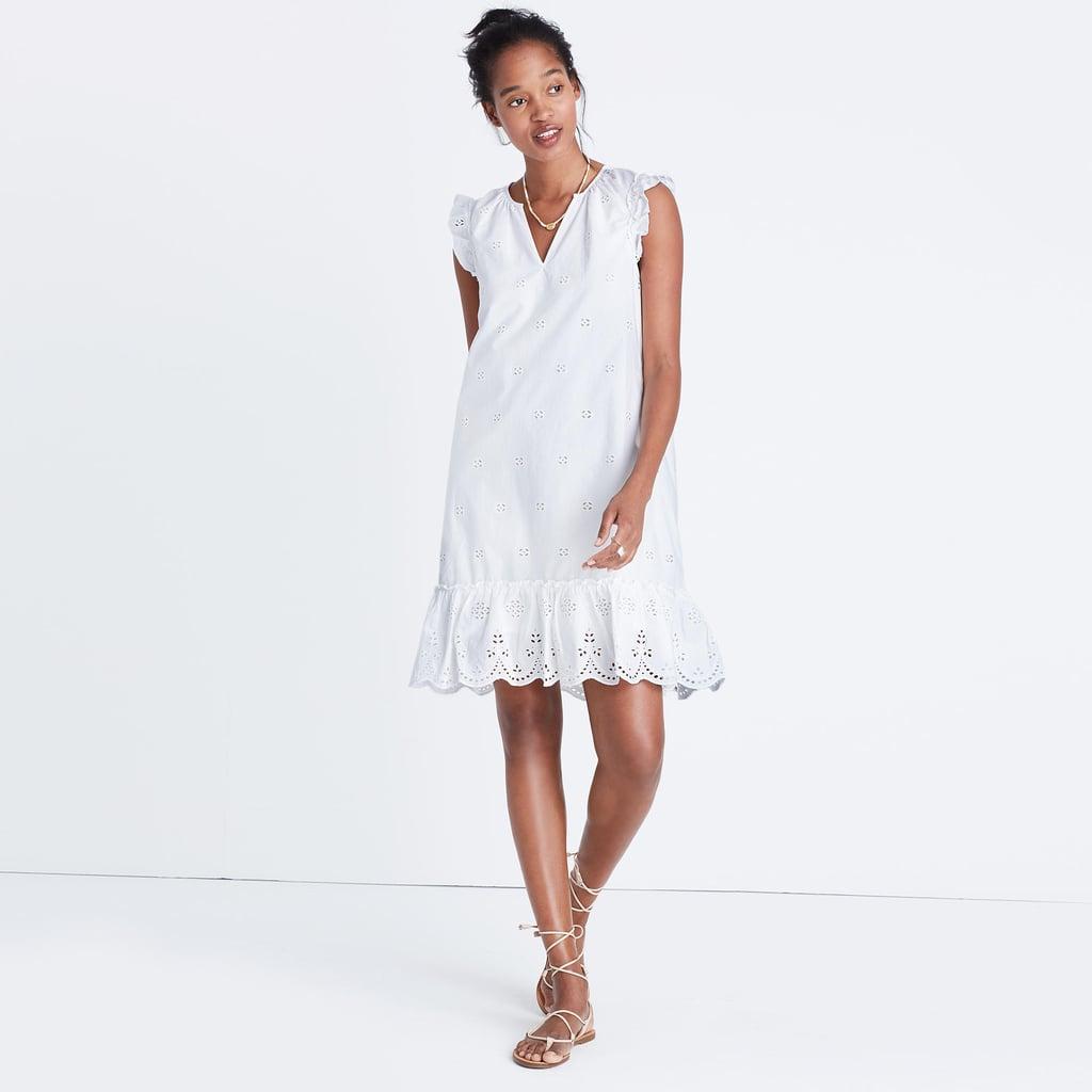 018c318bc25 Madewell Eyelet Garden Dress