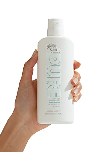 Bondi Sands Self Tan Foaming Water Review Before and After