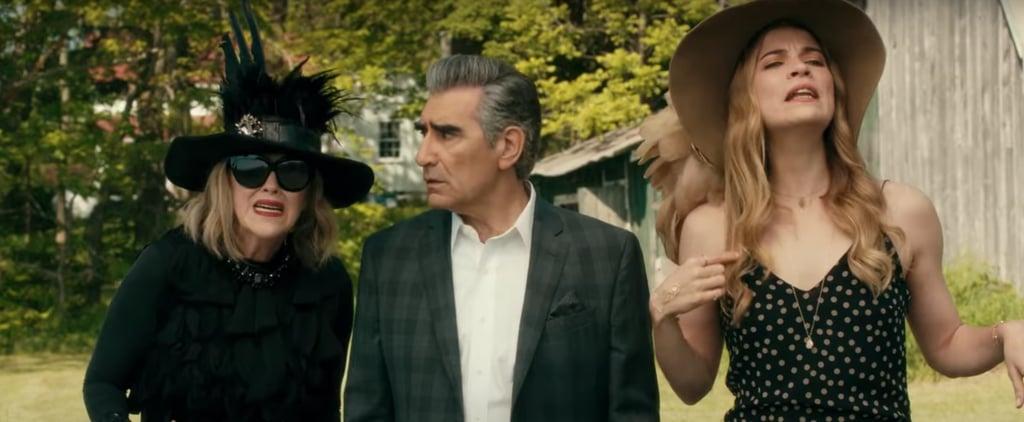 "Moira and Alexis Saying ""David"" on Schitt's Creek | Video"