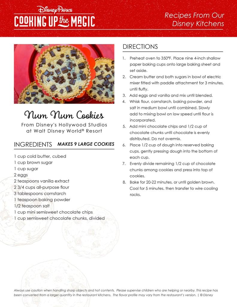 Num Num Cookies Recipe