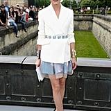 Olivia Palermo in White Dior Blazer