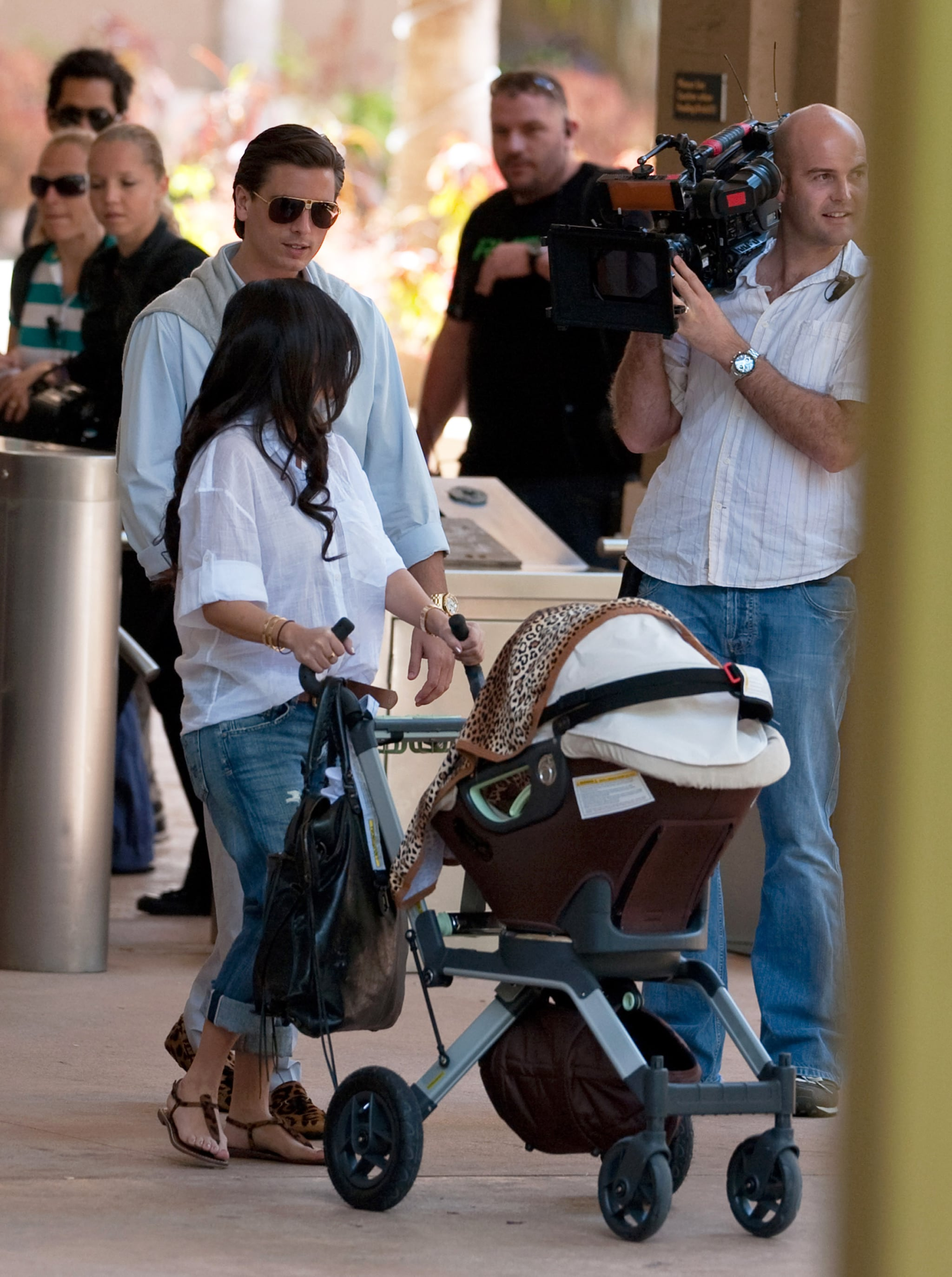 Reggie Bush And Kim Kardashian Beach Photos of Kim Kardashi...