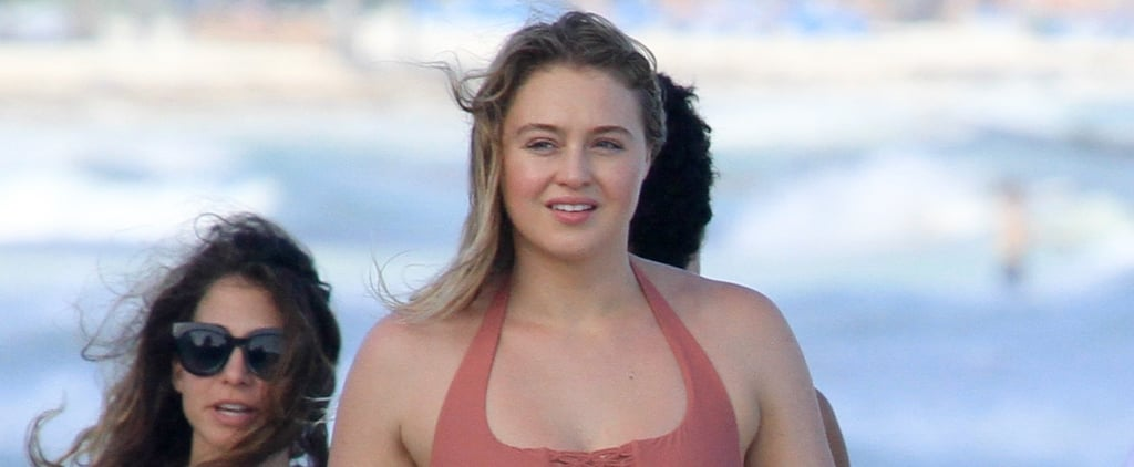 It's Winter, but Iskra Lawrence's 1-Piece Swimsuit Has Us Dreaming of Summer Sunsets