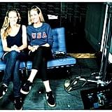 Jennifer Kessy and April Ross