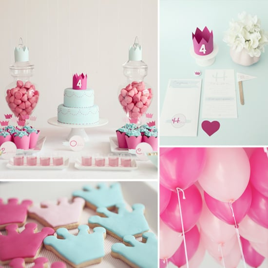 Elegant and Simple Princess Birthday Party POPSUGAR Moms