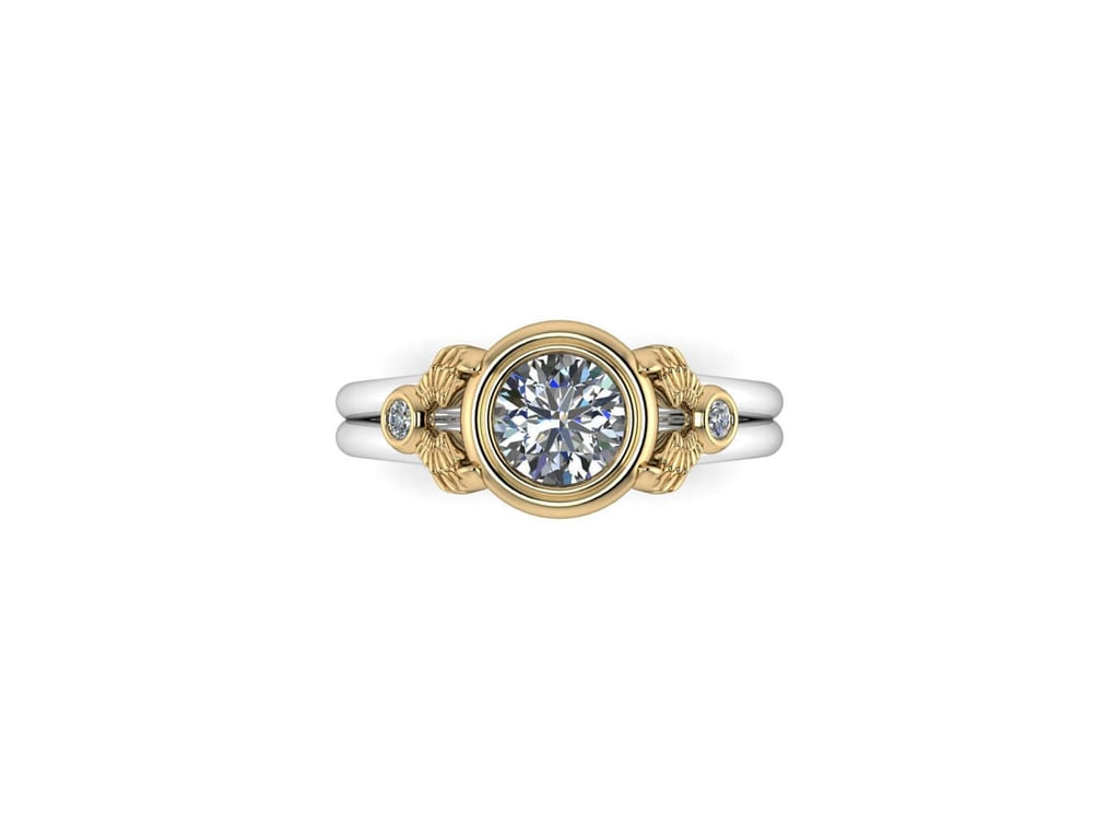 Certified Diamond Winged Ring ($2,976)