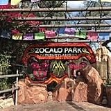 The installation at Zocalo Park features two hidden Mickeys —can you spot them?