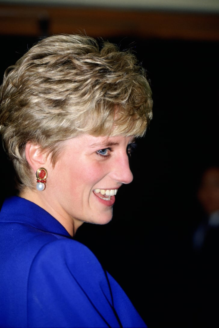 Pearl Sapphire And Ruby Earrings Princess Diana S