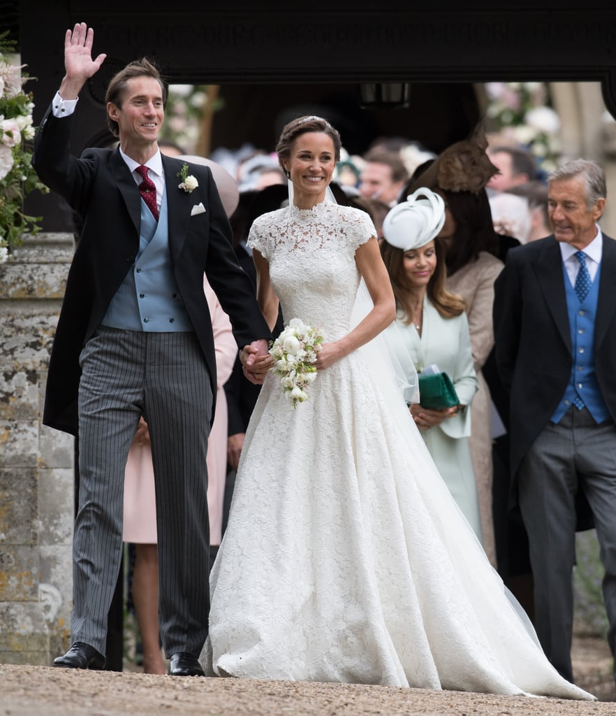 Pippa middleton 39 s wedding dress popsugar fashion photo 10 for Wedding dress like pippa middleton