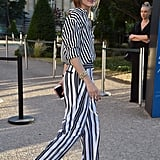 You'll Never Look as Bold as You Do When Wearing Stripes From Head to Toe