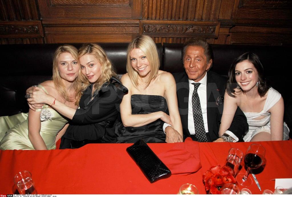 Photos of Madonna, Gwyneth Paltrow, Claire Danes at the Private Dinner for VALENTINO: The Last Emperor