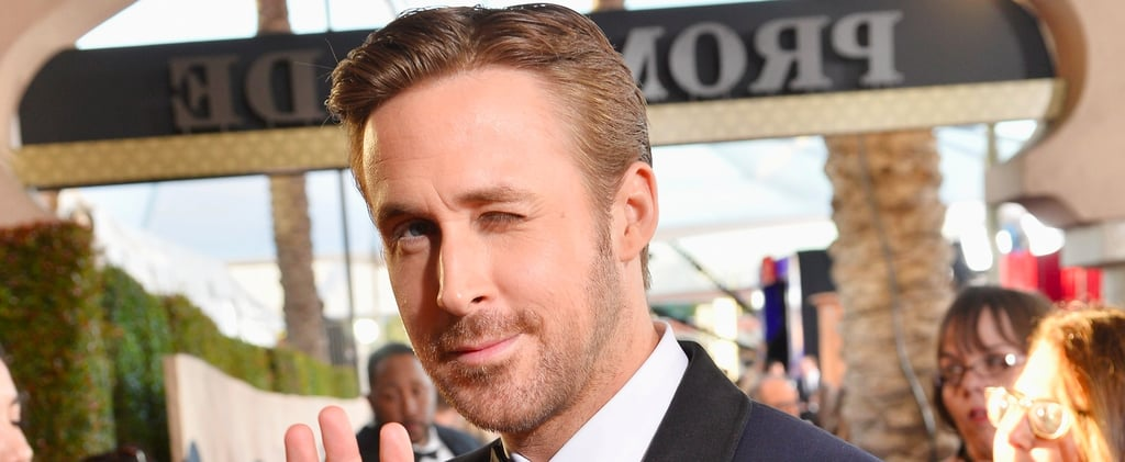 Ryan Gosling Pops Up at the SAG Awards Looking Like a Gift Sent From the Heavens