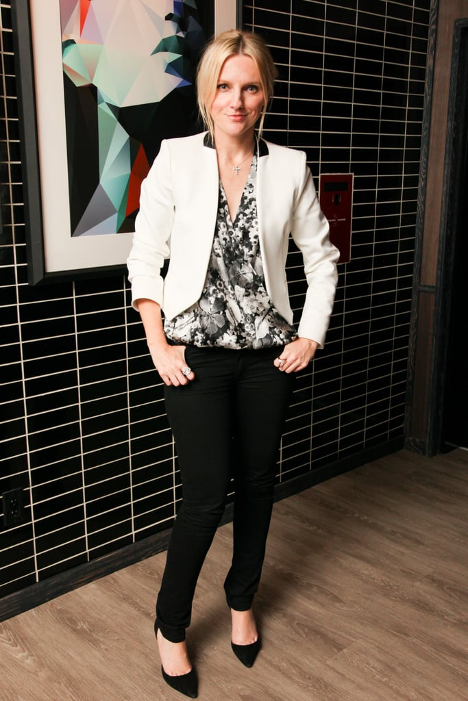 Laura Brown at the Daniel Vosovic cocktail party.