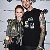 Madelaine Petsch and Travis Mills Split