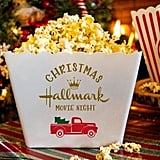 Personalized Popcorn Tub