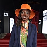 Little Simz at the British Fashion Awards 2019 in London