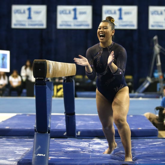 UCLA Gymnast Grace Glenn's History-Making Beam Routine