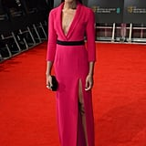 Naomie Harris at the 2014 BAFTA Awards.