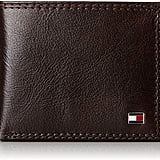 Tommy Hilfiger Men's Thin Sleek Casual Bifold Wallet