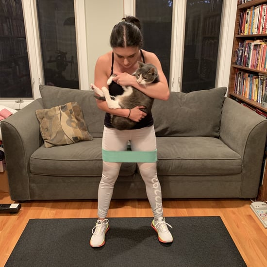 Trying a Lower-Body Workout With My Cat Was All Kinds of Fun