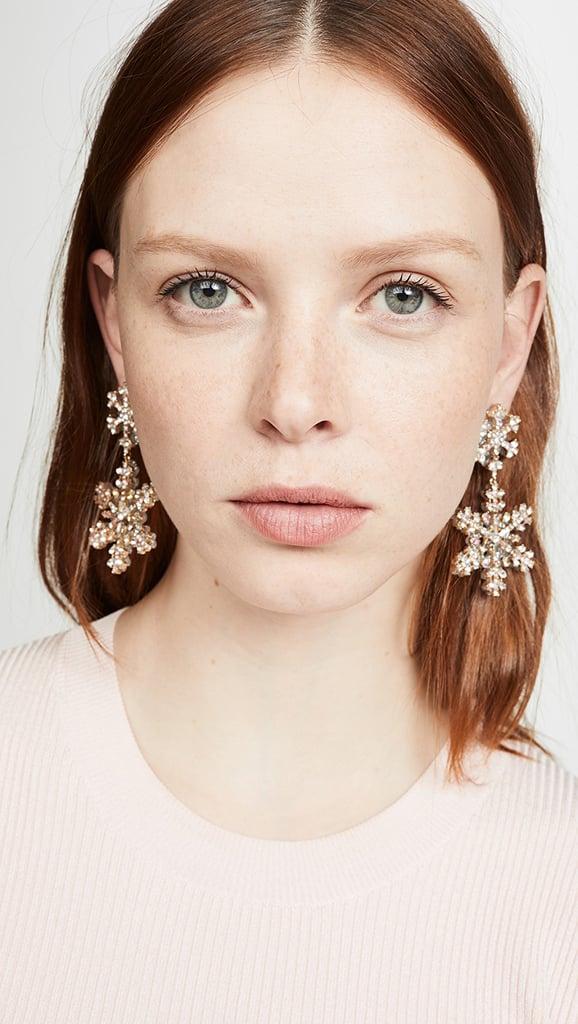 Elsa: BaubleBar Icicle Drop Earrings