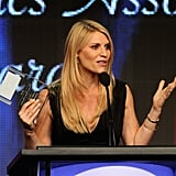 Claire Danes was honored on stage at the Television Critics Association Awards in LA.