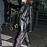 Bella Hadid Wearing Chanel Sneakers
