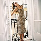 Faithfull the Brand Noemie Animal Print Midi Dress