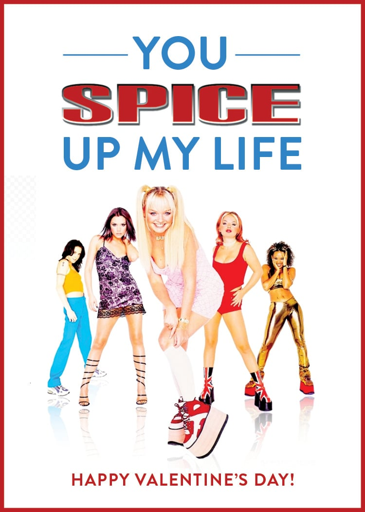 You spice up my life!