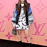 Hailee Steinfeld at a Louis Vuitton Event in Beverly Hills in June