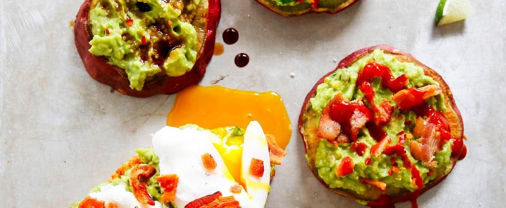 Make Delicious Avocado Toast Gluten Free and Paleo With a Sweet Potato Bun
