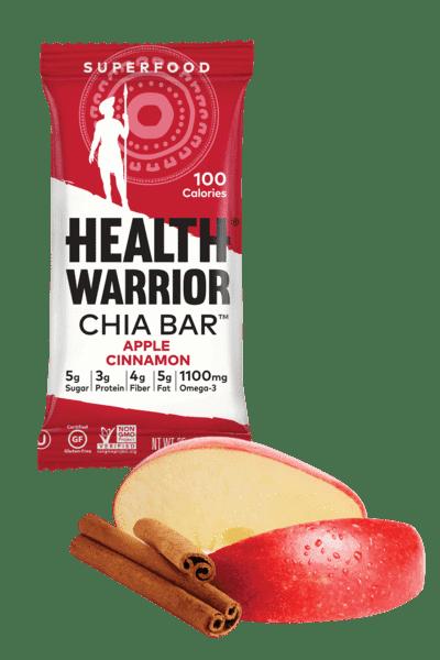 Health Warrior Apple Cinnamon Chia Bar