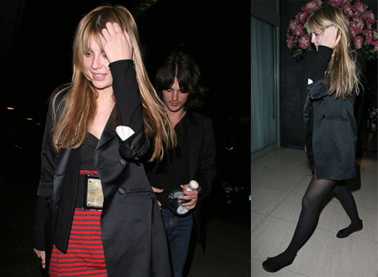 Images of Mischa Barton and Taylor Locke in London