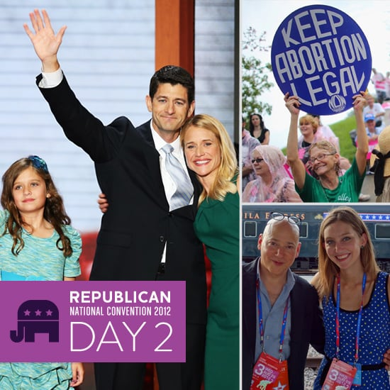 Day 2 on the Scene at the RNC: Paul Ryan Accepts While Protesters Disrupt